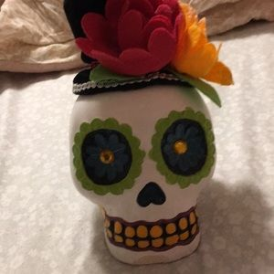 Accents - colorful skull home/room decor